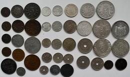 Norwegen: Lot 41 Münzen Lautend Auf Öre Und Krone 1876-1945, Dabei Auch Silbermünzen. - Norvège
