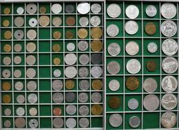 Rumänien: Rumänische Münzen Des 20ten Jahrundests: Eine Sammlung An Umlauf Und Gedenkmünzen Von 1 Ba - Roumanie