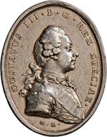 Schweden: Lot 25 Schwedischer Medaillen In Silber Und Bronze, U. A. Bronzene Prämienmedaille 1845, V - Suède