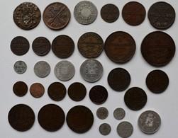 Schweden: Lot 32 Münzen Lautend Auf Skilling Und Riksdaler 1635 Bis Zur Münzreform 1873, Dabei Auch - Suède
