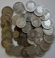 Schweden: Lot Diverser Silber Gedenkmünzen (über 20). Dazu Noch Bisschen Umlaufgeld. - Suède
