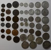Schweden: Lot 50 Münzen Lautend Auf Öre Und Krone 1874-1945, Dabei Auch Silbermünzen. - Suède