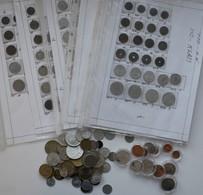 Ungarn: Großes Lot Ungarischer Münzen, Nach Typen Und Jahrgängen Gesammelt Und Bestimmt, Aufwändig I - Hongrie
