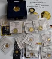 Medaillen Deutschland: 17 Goldmedaillen, Diverse Motive, Aboware. 12 X Aus 585/1000 Gold, 3 X Aus 33 - Allemagne