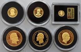 Medaillen Deutschland: Lot 6 Goldmedaillen, Davon 3 X NP Von 20 Mark. - Allemagne