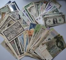 Varia, Sonstiges: BANKNOTEN: Ein Lot An über 160 Banknoten, Dabei Auch Bisschen Russland, Deutschlan - Other Collections
