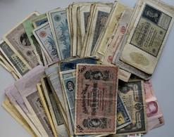 Varia, Sonstiges: BANKNOTEN: Lot über 200 Banknoten, Dabei überwiegend Kaiserreich Und Inflationsgel - Autres Collections