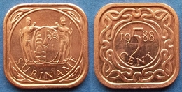 SURINAME - 5 Cents 1988 KM# 12.1b Republic Since 1975 - Edelweiss Coins - Surinam 1975 - ...