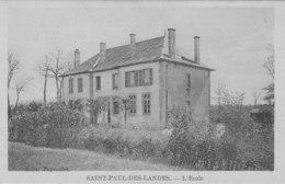 Saint Paul Des Landes   L ' Ecole - Autres Communes