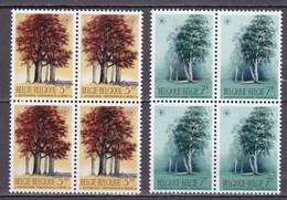 1970 Nr 1526-27** Zonder Scharnier,blokjes Van 4.Natuurbescherming. - Belgique