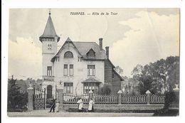 Tourpes  ( M 3762 )   2 Femmes Avec Chien , Prés De La Villa & 1 Couple - Leuze-en-Hainaut