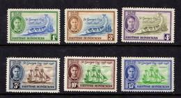 BRITISH  HONDURAS   1949    150th  Anniv  Of  Battle  Of  St  Georges  Cay    Set  Of  6         MH - British Honduras (...-1970)