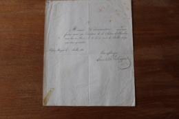 Lettre Autographe  Signé Louis Philippe 1831   Roi De France - Autographes