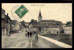54 - AUBOUE - Rue De L'Eglise - Francia
