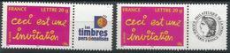 Ceci Est Une Invitation - Y&T 3760A Neufs ** - France