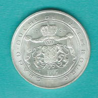 Luxembourg - Jean - 100 Francs - Accession To The Throne - 1964 - KM54 - Luxembourg