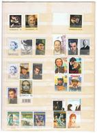 Schauspieler Und Künstler Kleine Postfrische Sammlung - Acteurs