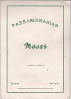 PORTUGAL - BARCELOS - CATALOGO - PASSAMANARIAS MACAR - BARCELINHOS - Portugal