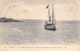 """44 - PORNIC : La """" VILLE De PAIMBOEUF """" Attendant La Marée Pour Entrer Dans Le Port - CPA - Loire Atlantique - Pornic"""