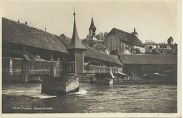 SUISSE LUZERN LUCERNE Spreuerbrücke  BE - LU Lucerne