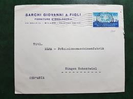 (14459) STORIA POSTALE ITALIA 1956 - 6. 1946-.. Repubblica