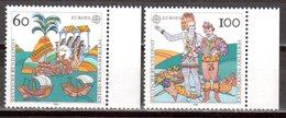 Bund 1992 Mi. 1608-1609 ** Europa Postfrisch (pü3034) - [7] République Fédérale
