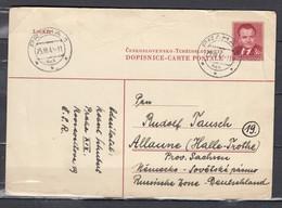 Postkaart Van Praha - Tchéquie
