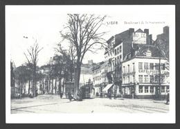 Liège - Boulevard De La Sauvenière - Café Du Point à Vue - Liege