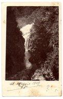 FOTO CARTOLINA - ANNULLO BELLANO COMO - VG 1909 FP- C812 - Photographs