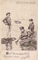 ENFANTS - Futurs Marins - Humorkaarten