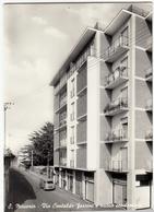S. MACARIO - VIA CONTALDO FERRINI E NUOVO CONDOMINIO - SAMARATE - FERNO - VARESE - 1963 - AUTOMOBILI - CARS - ALFA ROMEO - Varese