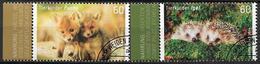 2014  Allem. Fed.  Deutschland MI. 3047-8 FD-used  LR  Tierbabys - [7] République Fédérale