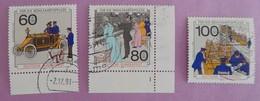RFA  ANNEE 1990  YT 1306/1308  OBLITERES SERIE COMPLETE - [7] République Fédérale