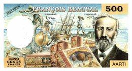 463-2019   BILLET DE 500 FRANCS DE REDUCTION  PUBLICITAIRE POUR FRANCOIS BEAUVAL - Autres