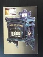 Carte Maximum Card Boite Aux Lettres Letter Box Musée Postal Luxembourg 1981 - Cartes Maximum