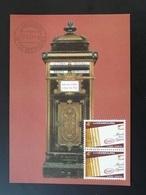 Carte Maximum Card Boite Aux Lettres Letter Box Luxembourg 1981 - Cartes Maximum