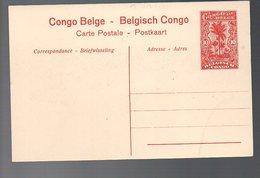 CONGO - ENTIER STIBBE 43 - VUE 7 NEUF -  TB - PL8 - Entiers Postaux
