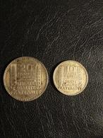 2 Pièces 10 Et 20 Francs Turin 1933 1938 Argent - Frankreich