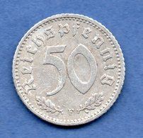 Allemagne -50 Reichspfennig 1941 F  - Km # 97  -- état TB + -- - [ 4] 1933-1945 : Third Reich