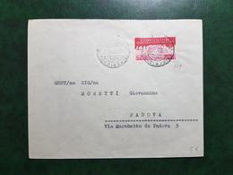 (14475) STORIA POSTALE ITALIA 1956 - 1946-60: Marcophilia