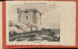 CPA ITALIE   TRAPANI - UN SALUTO DA ... - TORRE DI LIGUI'   Jan 2019 864 - Trapani
