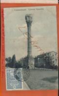 CPA Turquie - Constantinople - Colonne Byzantine Timbre Seul Sur Lettre Cachet à Date  Oblitération   Jan 2019 866 - Turquie