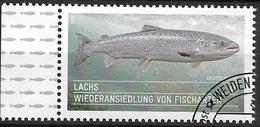2014  Allem. Fed.  Deutschland MI. 3051 FD-used  Wiederansiedlung Von Fischarten : Atlantischer Lachs (Salmo Salar) - [7] République Fédérale