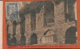 CPA Turquie - Constantinople - Aqueduc Des Valens   Timbre Seul Sur Lettre Cachet à Date  Oblitération Jan 2019 868 - Turquie