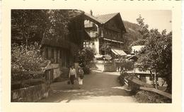 SUISSE  ( Valais ) Champéry - Hôtel Beau Sejour ( Format: 11.5 X7.5 ) - Lieux