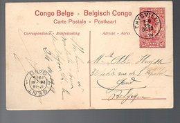 CONGO - ENTIER STIBBE 43 - VUE 3  -THYSVILLE 1919 - GAND -   TB - PL8 - Entiers Postaux