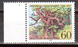 Bund 1988 Mi. 1356 ** Eichendorff Postfrisch (pü2500) - [7] République Fédérale