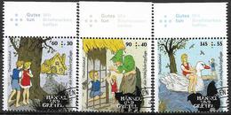 2014  Allem. Fed.  Deutschland MI. 3056-8 FD-used Grimms Märchen (I) Hänsel Und Gretel - [7] République Fédérale
