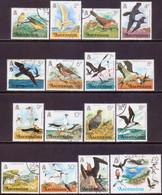 ASCENSION 1976 SG #199-214 Compl.set Used Birds - Ascension