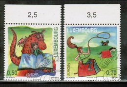 CEPT 2010 LU MI 1867-68 LUXEMBOURG USED - Europa-CEPT